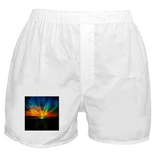 Sunset Over The Water Boxer Shorts