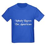 The American Kids Dark T-Shirt