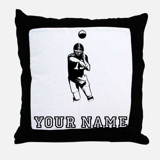 Quarterback (Custom) Throw Pillow