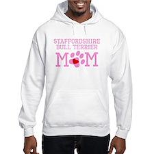 Staffordshire Bull Terrier Mom Hoodie