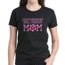 Staffordshire Bull Terrier Mom T-Shirt