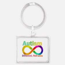 Autism. Different. Not Less Keychains
