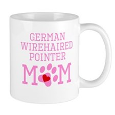 German Wirehaired Pointer Mom Mugs