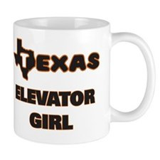 Texas Elevator Girl Mug