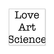 Love Art Science Sticker