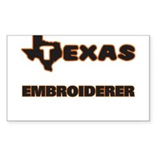 Texas Embroiderer Decal