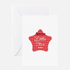 Cute Little Star Greeting Card