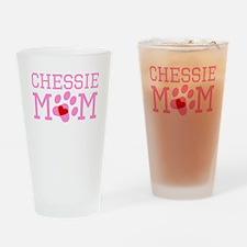 Chessie Mom Drinking Glass