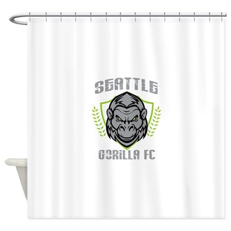GFCtrans Shower Curtain By GorillaFC