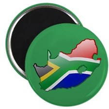 """""""South Africa Bubble Map"""" Magnet"""