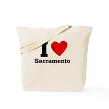 I Heart Sacramento Tote Bag