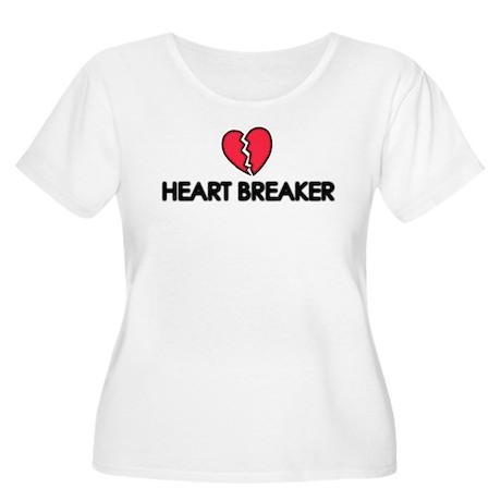 Heart.Breaker Women's Plus Size Scoop Neck T-Shirt