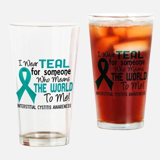 Interstitial Cystitis MeansWorldToM Drinking Glass