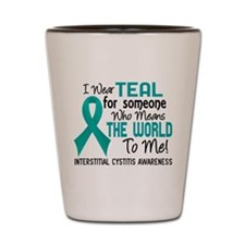 Interstitial Cystitis MeansWorldToMe2 Shot Glass
