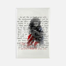 ARMY WIFE POEM Rectangle Magnet