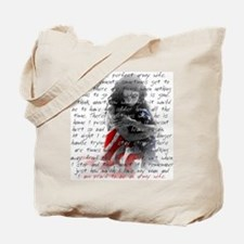 ARMY WIFE POEM Tote Bag