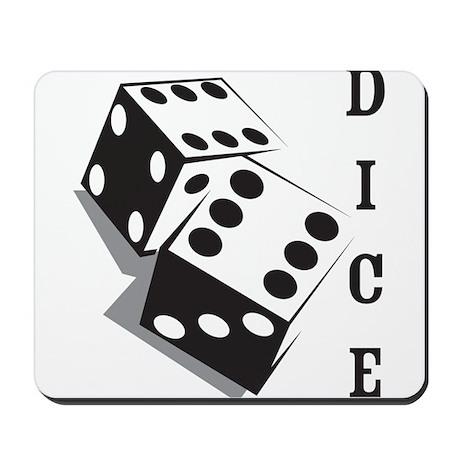 Dice Mousepad