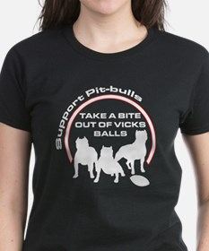 Dog fights Vick Tee