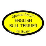 English bull terrier Bumper Stickers