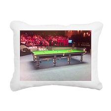 Snooker - The Masters Rectangular Canvas Pillow