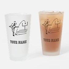 Field Goal Kicker (Custom) Drinking Glass