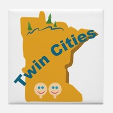 Twin Cities Tile Coaster
