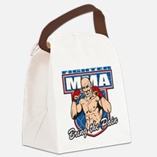 MMA Fighter Canvas Lunch Bag