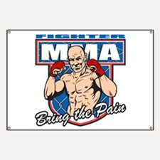 MMA Fighter Banner