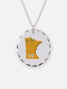 Minnesota State Necklace