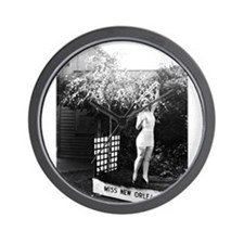 1926 Miss New Orleans (Gladys Moore) Wall Clock