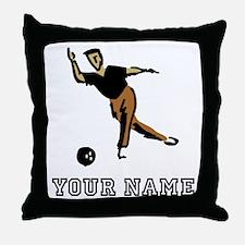 Bowler Throw Pillow