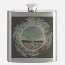 Funny Tree of life Flask
