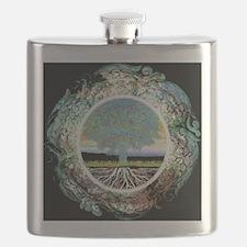 Unique Tree life Flask