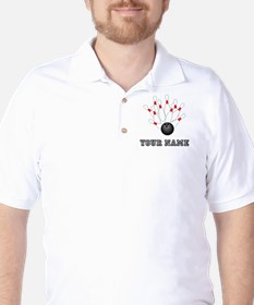 Bowling Strike Golf Shirt