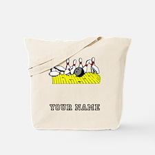 Bowling Strike Tote Bag