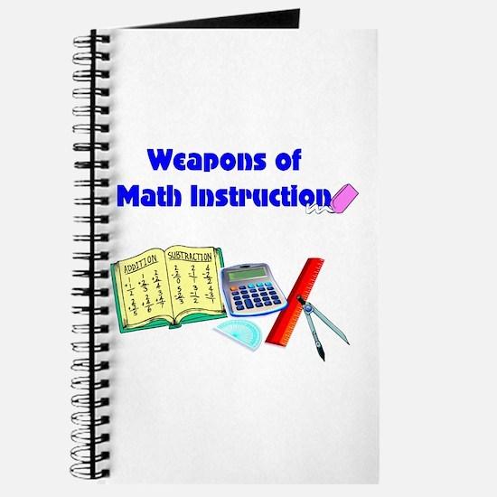 Scott's Weapons of Math Destruction Journal