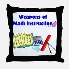 Scott's Weapons of Math Destruction Throw Pillow