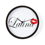 Latina Wall Clock