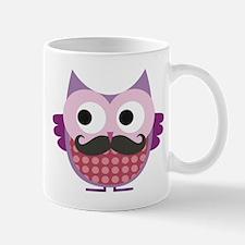 Mustachioed owl, Purple Mug