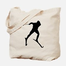 Cross Country Skier Tote Bag