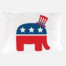 Republican Elephant Pillow Case