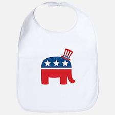 Republican Elephant Bib