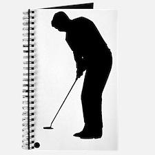 Golfer Putting Journal