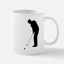 Golfer Putting Mugs
