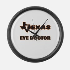 Texas Eye Doctor Large Wall Clock