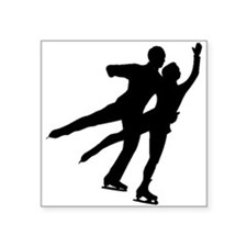 Figure Skaters Sticker