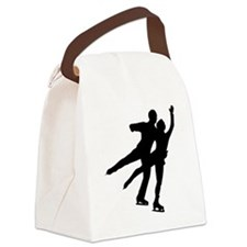 Figure Skaters Canvas Lunch Bag