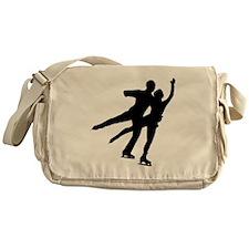 Figure Skaters Messenger Bag
