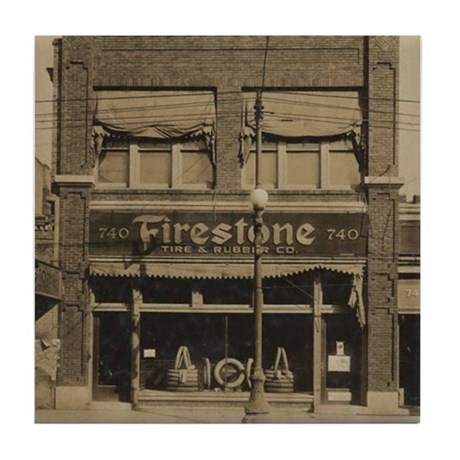 Firestone Tires Tile Coaster