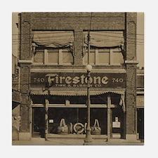 Firestone Tires Tile Coaster